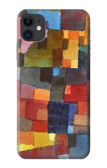 Printed Paul Klee Raumarchitekturen iPhone 11 Case