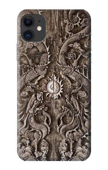 Printed Dragon Door iPhone 11 Case