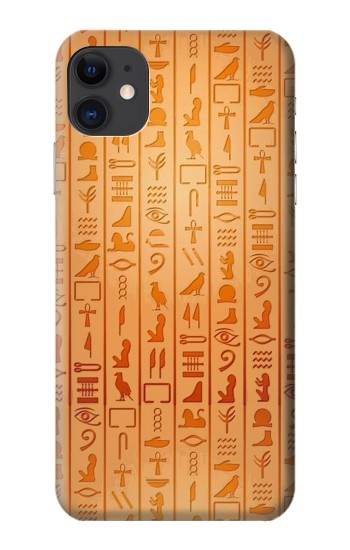 Printed Egyptian Hieroglyphs iPhone 11 Case