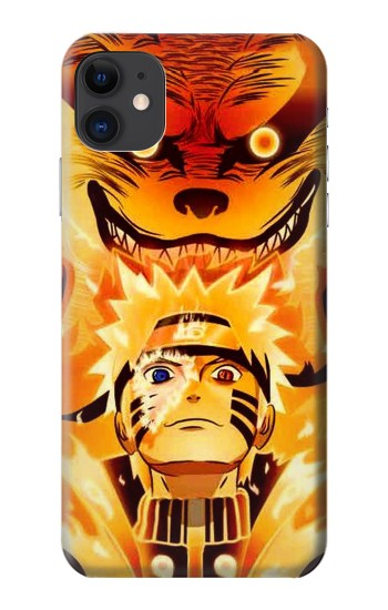 Printed Naruto Kurama Nine Tailed Fox iPhone 11 Case
