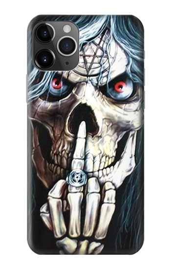 Printed Skull Pentagram iPhone 11 Pro Max Case