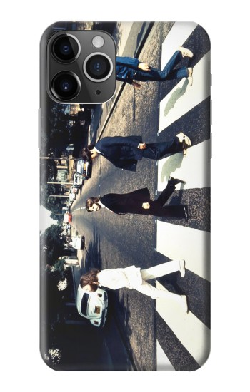 Printed The Beatles Abbey Road iPhone 11 Pro Max Case