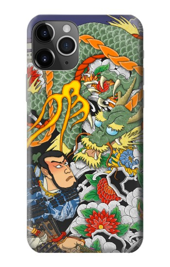 Printed Japan Tattoo iPhone 11 Pro Max Case