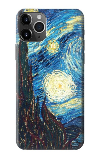 Printed Van Gogh Starry Nights iPhone 11 Pro Max Case
