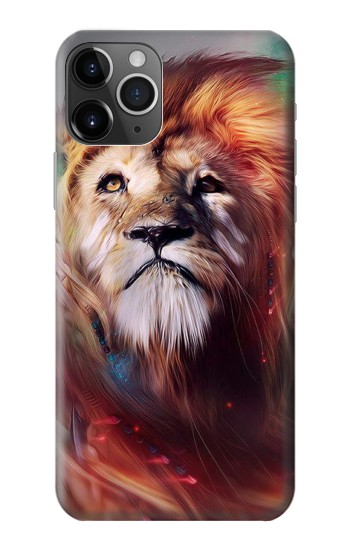 Printed Leo Paint iPhone 11 Pro Max Case