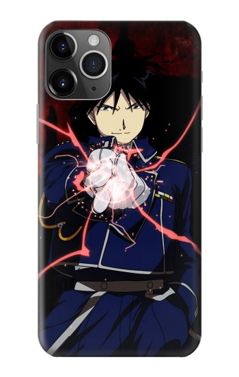 Printed Fullmetal Alchemist Roy Mustang iPhone 11 Pro Max Case