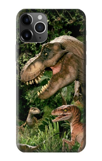 Printed Trex Raptor Dinosaur iPhone 11 Pro Max Case