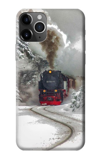 Printed Steam Train iPhone 11 Pro Max Case