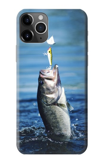 Printed Bass Fishing iPhone 11 Pro Max Case