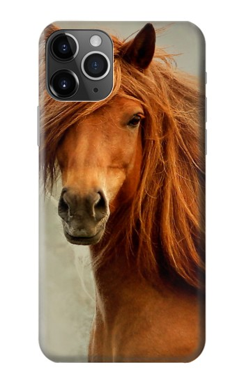 Printed Beautiful Brown Horse iPhone 11 Pro Max Case