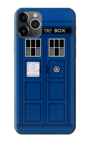 Printed Doctor Who Tardis iPhone 11 Pro Max Case