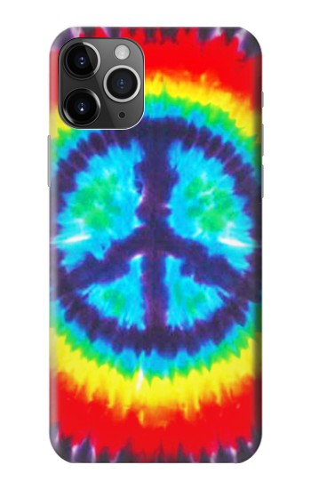 Printed Tie Dye Peace iPhone 11 Pro Max Case