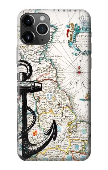 Printed Nautical Chart iPhone 11 Pro Max Case