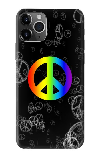Printed Peace Sign iPhone 11 Pro Max Case