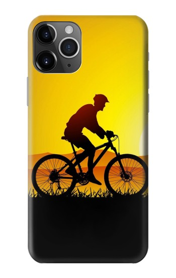 Printed Bicycle Bike Sunset iPhone 11 Pro Max Case
