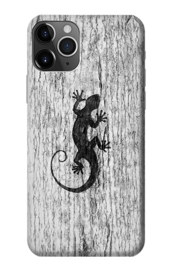 Printed Gecko Wood Graphics Printed iPhone 11 Pro Max Case