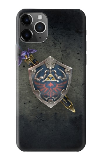 Printed Legend of Zelda Shield iPhone 11 Pro Max Case