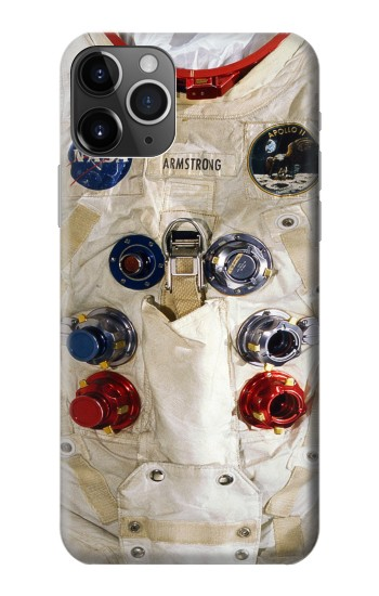 Printed Neil Armstrong White Astronaut Spacesuit iPhone 11 Pro Max Case