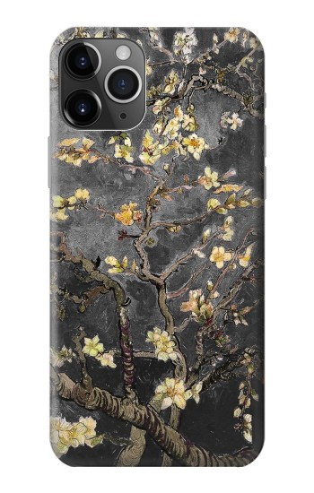 Printed Black Blossoming Almond Tree Van Gogh iPhone 11 Pro Max Case