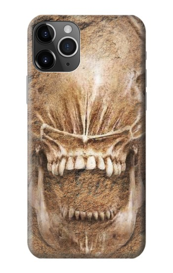 Printed Alien Skull Fossil iPhone 11 Pro Max Case