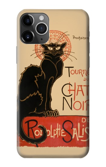 Printed Chat Noir The Black Cat iPhone 11 Pro Max Case