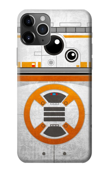 Printed BB-8 Rolling Droid Minimalist iPhone 11 Pro Max Case
