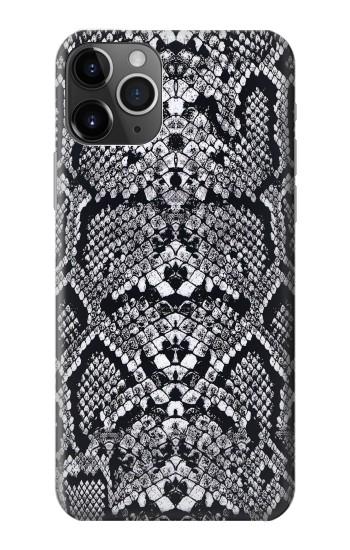 Printed White Rattle Snake Skin iPhone 11 Pro Max Case