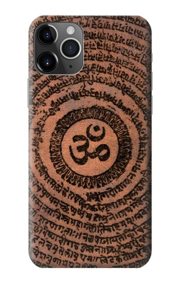 Printed Sak Yant Ohm Symbol Tattoo iPhone 11 Pro Max Case