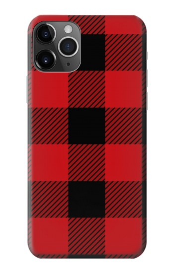 Printed Red Buffalo Check Pattern iPhone 11 Pro Max Case