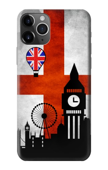 Printed England Football Flag iPhone 11 Pro Max Case