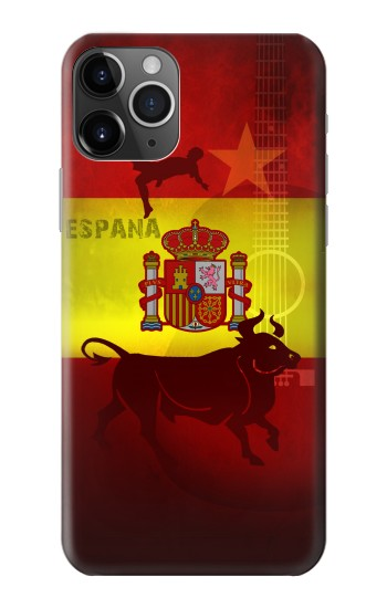 Printed Spain Football Flag iPhone 11 Pro Max Case