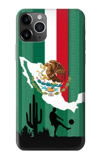 Printed Mexico Football Flag iPhone 11 Pro Max Case