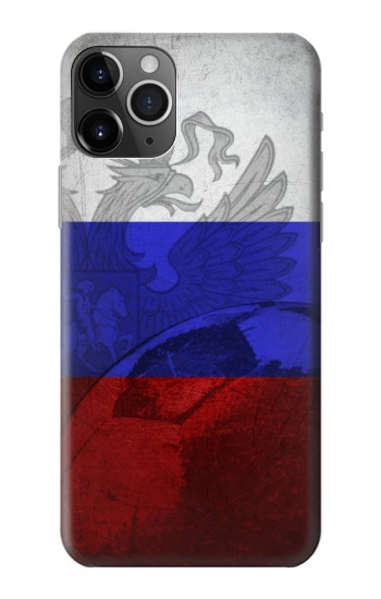 Printed Russia Football Flag iPhone 11 Pro Max Case
