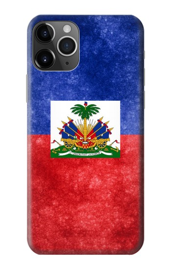 Printed Haiti Flag iPhone 11 Pro Max Case