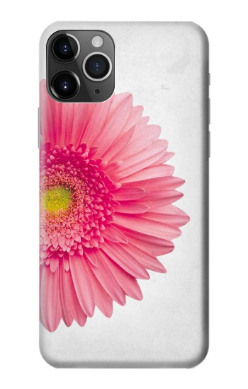 Printed Vintage Pink Gerbera Daisy iPhone 11 Pro Max Case