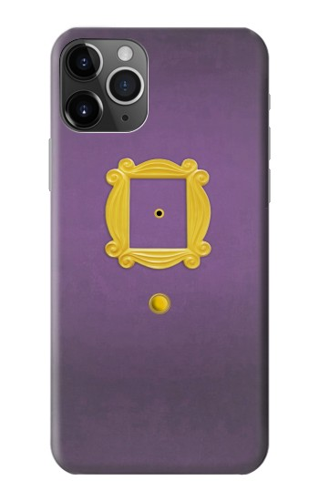 Printed Friends Purple Door Minimalist iPhone 11 Pro Max Case