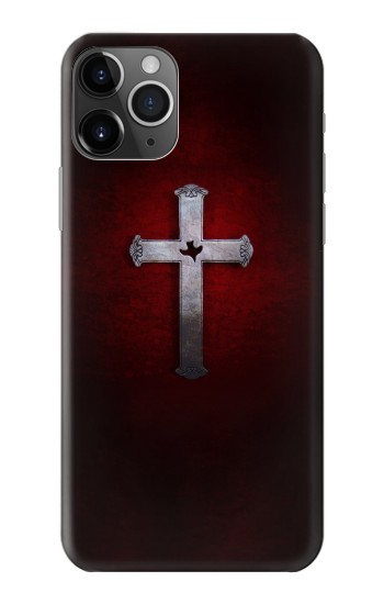 Printed Christian Cross iPhone 11 Pro Max Case