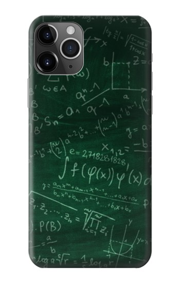 Printed Math Formula Greenboard iPhone 11 Pro Max Case