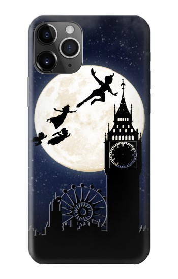 Printed Peter Pan Fly Fullmoon Night iPhone 11 Pro Max Case