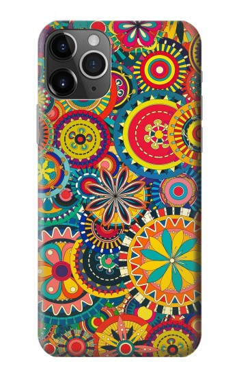 Printed Colorful Pattern iPhone 11 Pro Max Case