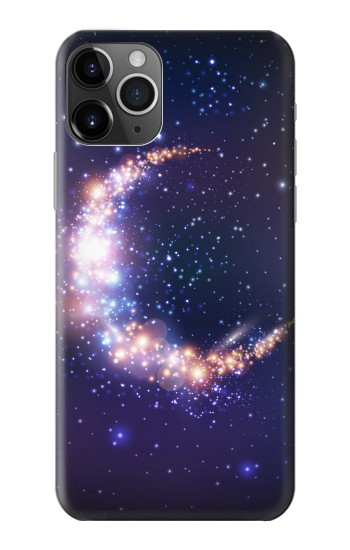 Printed Crescent Moon Galaxy iPhone 11 Pro Max Case