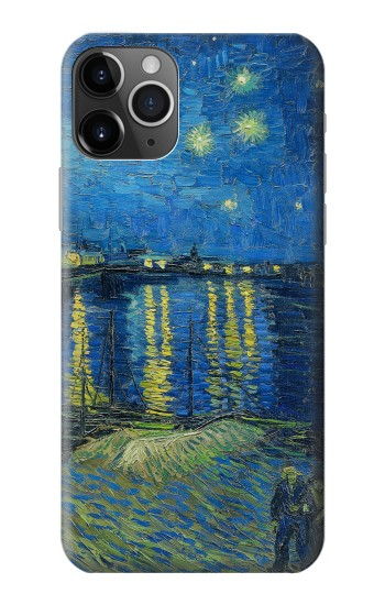 Printed Van Gogh Starry Night Over Rhone iPhone 11 Pro Max Case