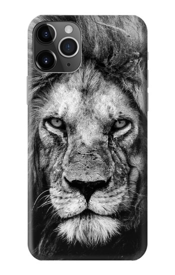 Printed Lion Face iPhone 11 Pro Max Case