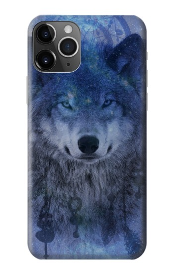 Printed Wolf Dream Catcher iPhone 11 Pro Max Case