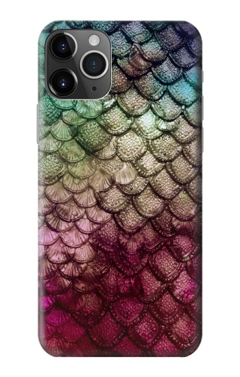 Printed Mermaid Fish Scale iPhone 11 Pro Max Case