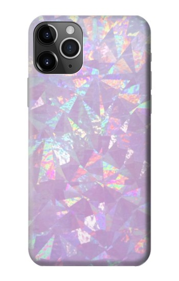 Printed Iridescent Holographic Photo Printed iPhone 11 Pro Max Case