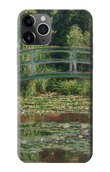 Printed Claude Monet Footbridge and Water Lily Pool iPhone 11 Pro Max Case
