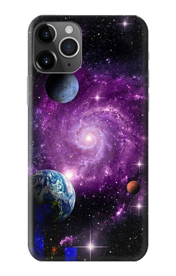 Printed Galaxy Outer Space Planet iPhone 11 Pro Max Case