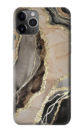Printed Marble Gold Graphic Printed iPhone 11 Pro Max Case
