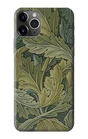 Printed William Morris Acanthus Leaves iPhone 11 Pro Max Case